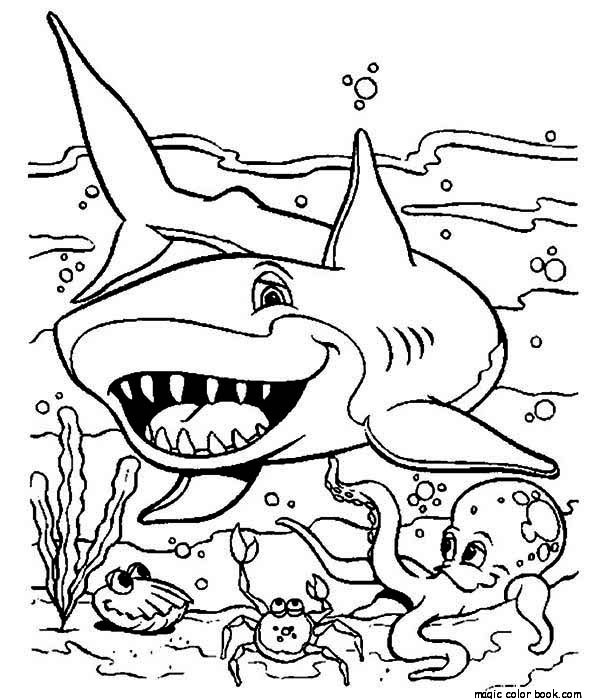 shark coloring pictures shark colouring pictures coloring shark
