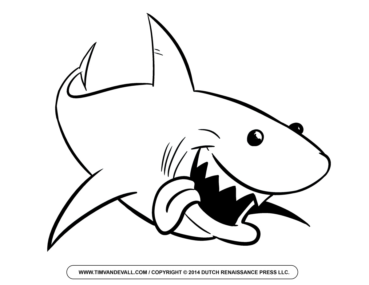 shark printables shark coloring pages to download and print for free printables shark