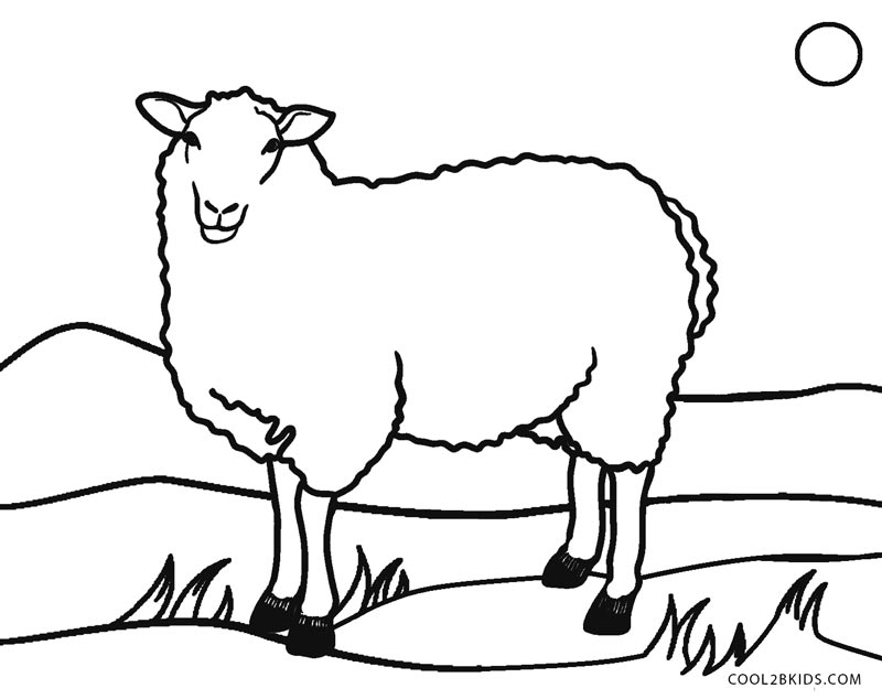 sheep colouring free printable sheep coloring pages for kids colouring sheep 1 1
