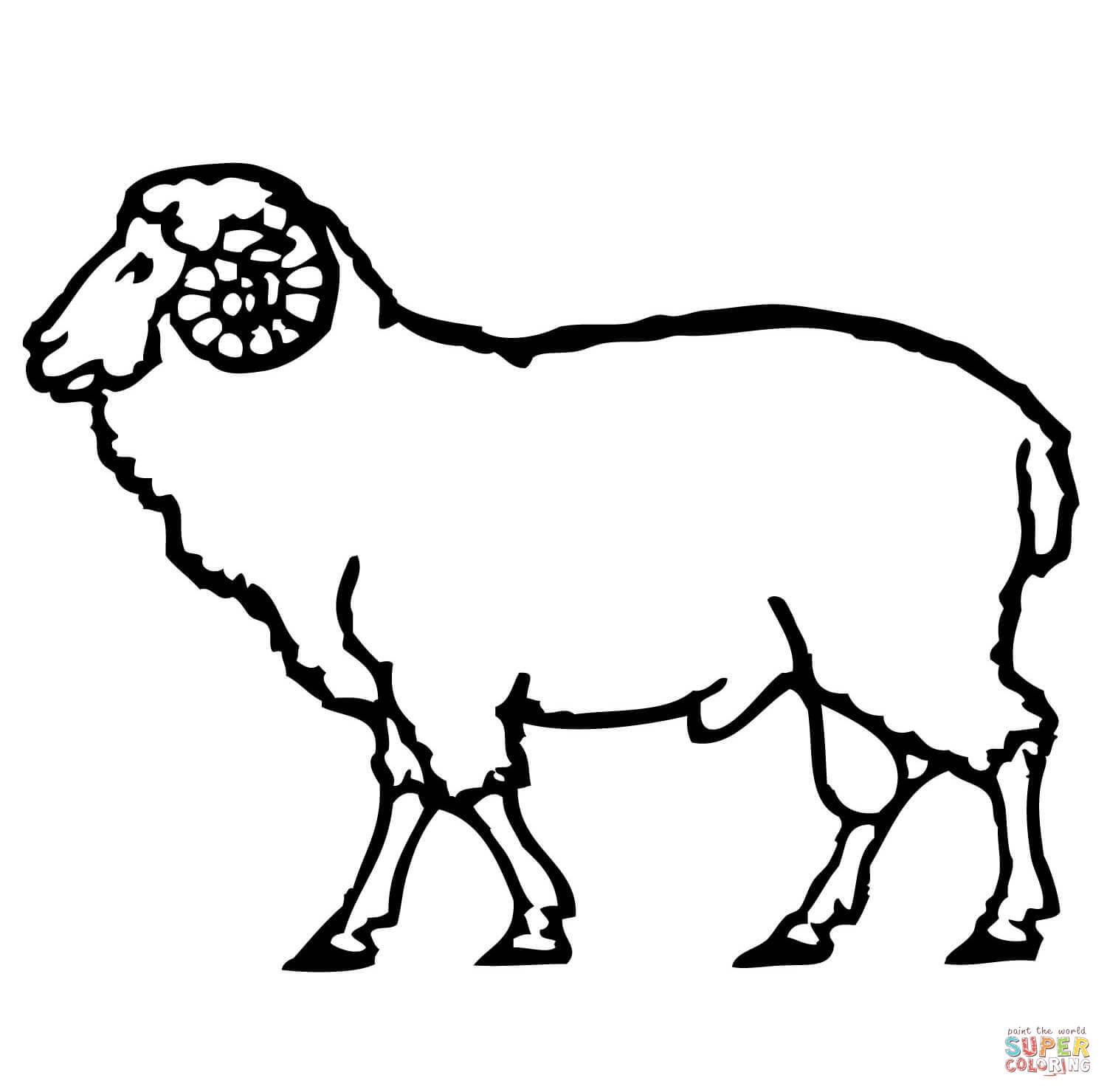 sheep colouring free printable sheep face coloring pages for kids colouring sheep