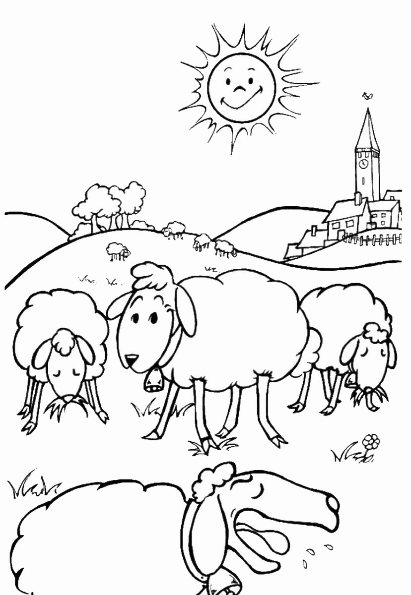 sheep colouring free printable sheep face coloring pages for kids cool2bkids colouring sheep 1 1