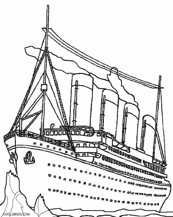 shipwreck titanic coloring pages coloring pages side view of the titanic coloring titanic shipwreck pages