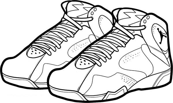 shoes to color basketball shoe coloring pages download and print for free color to shoes