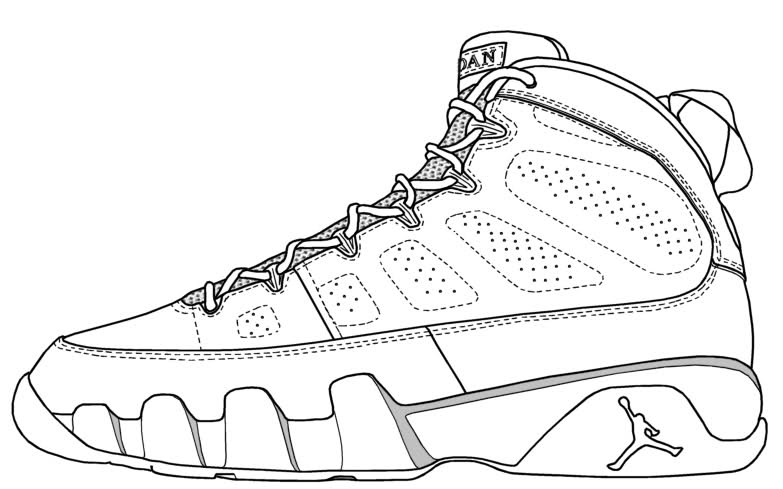 shoes to color basketball shoes coloring pages coloring pages to shoes to color