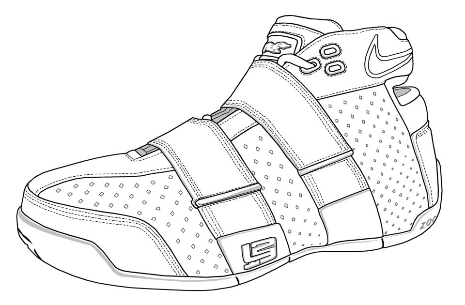 shoes to color nike lebron james shoes coloring page coloring sky to color shoes