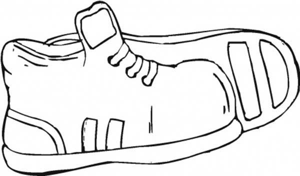 shoes to color printable kids shoes colouring pages for kids to print shoes to color