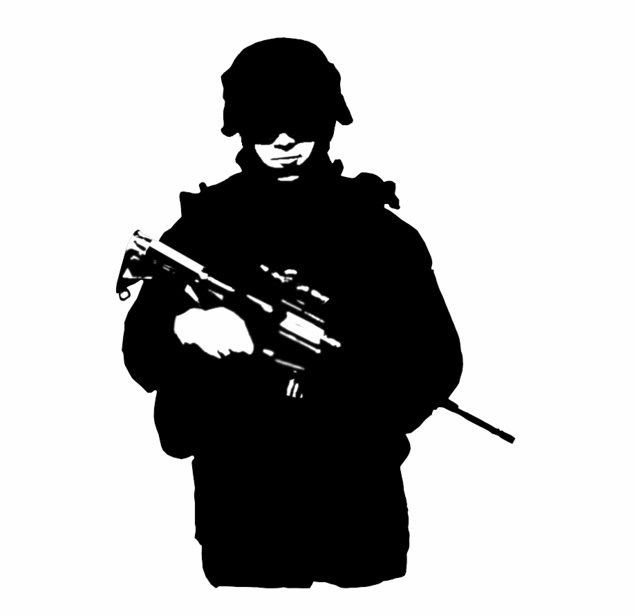 silhouette of soldier soldier silhouette png at getdrawings free download soldier silhouette of
