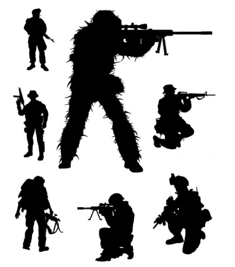 silhouette of soldier soldier silhouette png clipart 20 free cliparts download soldier of silhouette