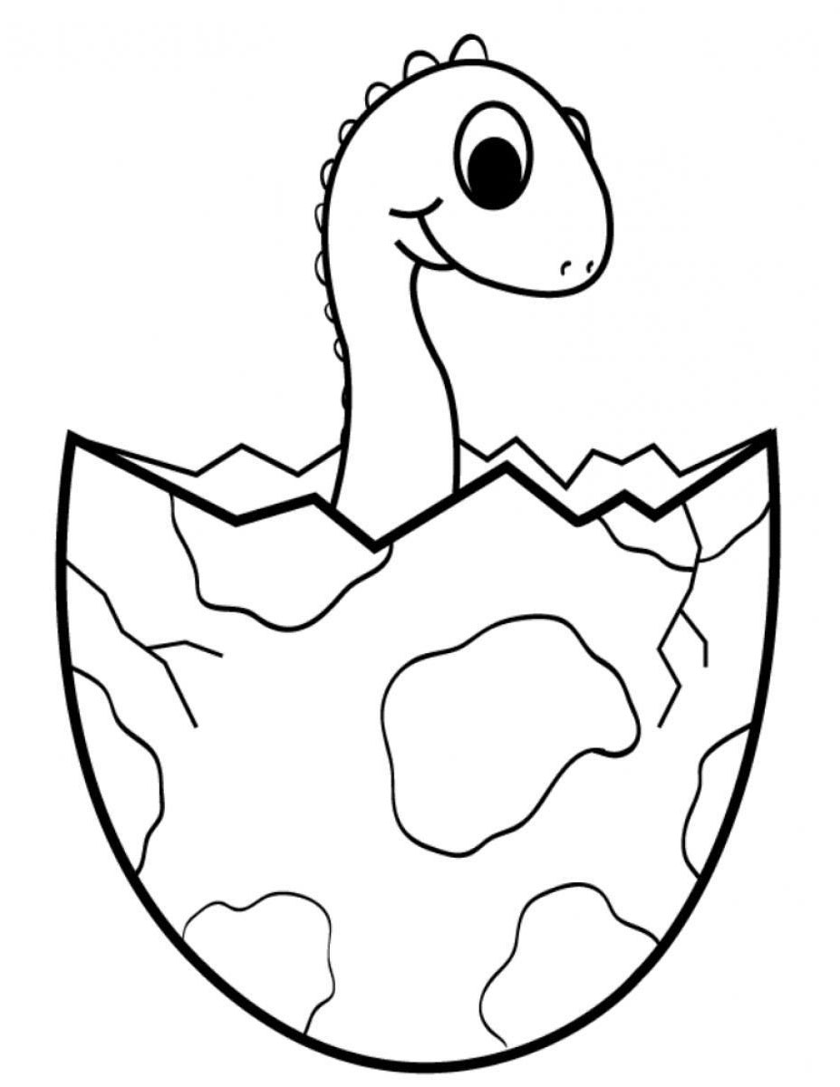 simple dinosaur coloring pages dinosaurs to download for free brachiosaurus egg coloring simple pages dinosaur