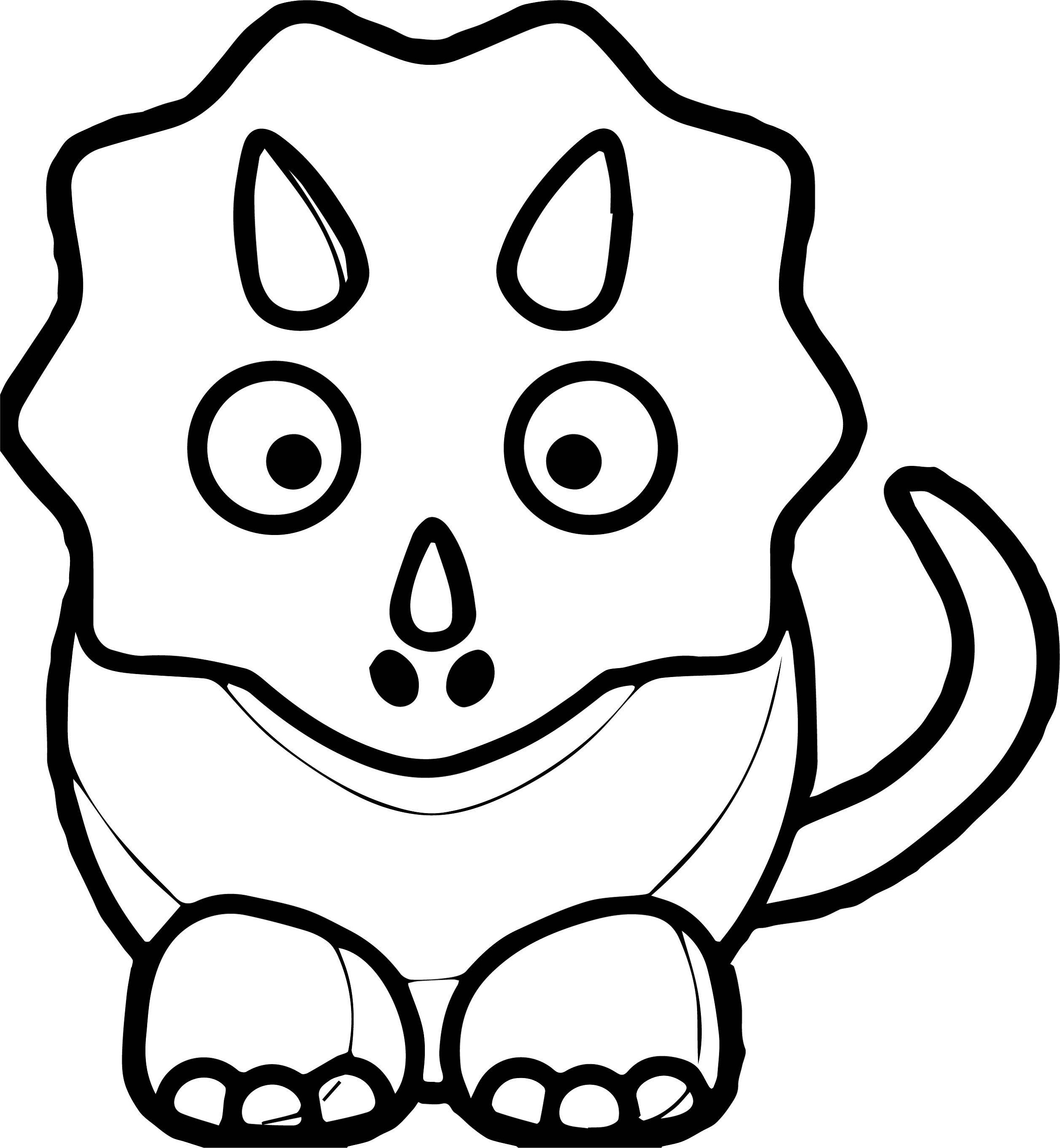 simple dinosaur coloring pages easy dinosaur coloring pages coloring home pages dinosaur simple coloring