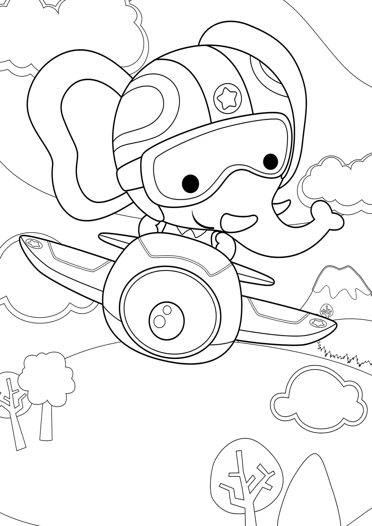 simple elephant coloring page free easy to print elephant coloring pages tulamama coloring page simple elephant
