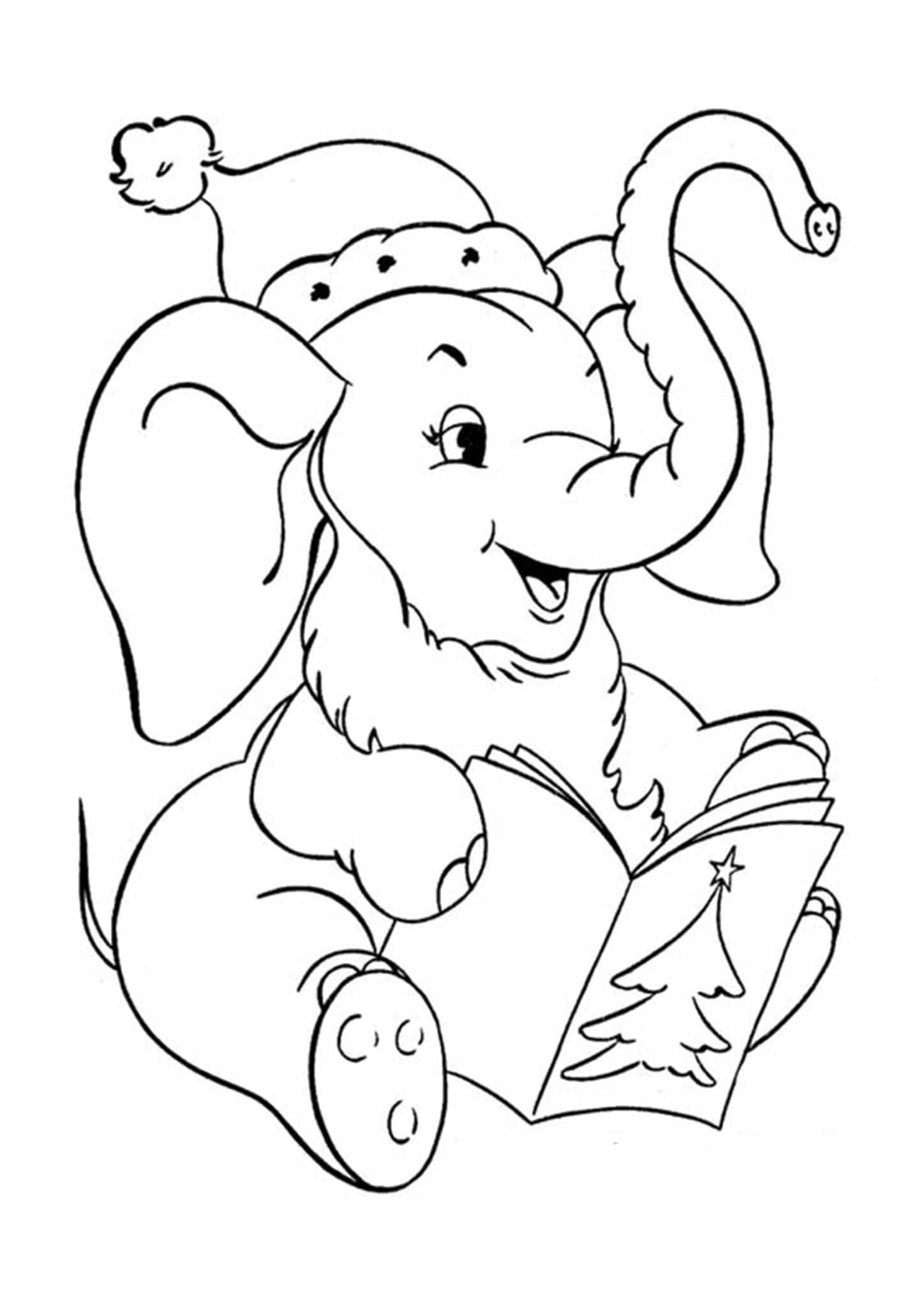 simple elephant coloring page simple elephant colouring page my free colouring pages elephant simple page coloring