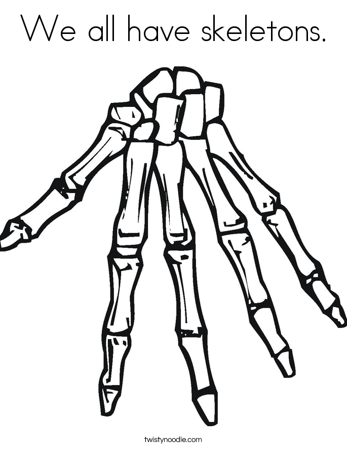 skeletal system coloring page biology corner skeletal system resources quotfill in words skeletal page coloring system