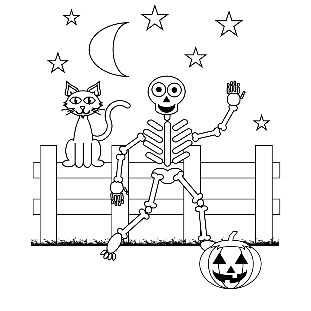 skeletal system coloring page pin by susie petri on lineart hallowemonsters skeleton skeletal coloring page system
