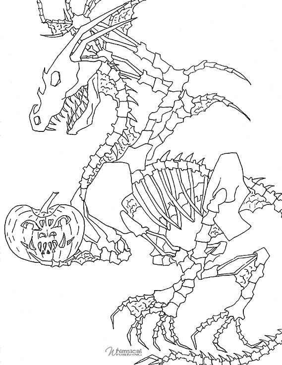 skeleton dragon coloring pages 6 pics of skeleton dragon coloring pages bone dragon coloring dragon pages skeleton