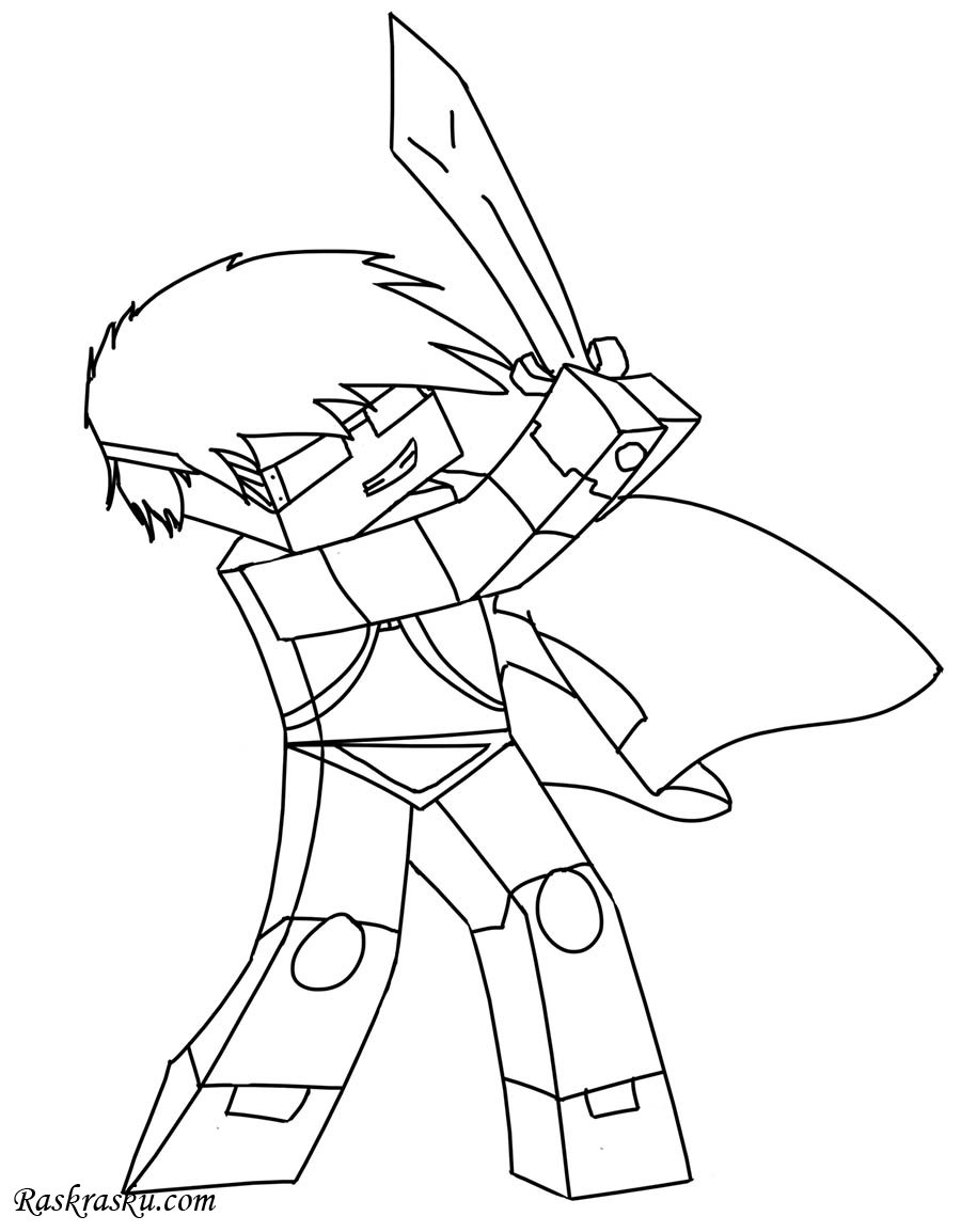 skydoesminecraft coloring pages Раскраска Майнкрафт Алекс Раскраски майнкрафт для детей skydoesminecraft coloring pages