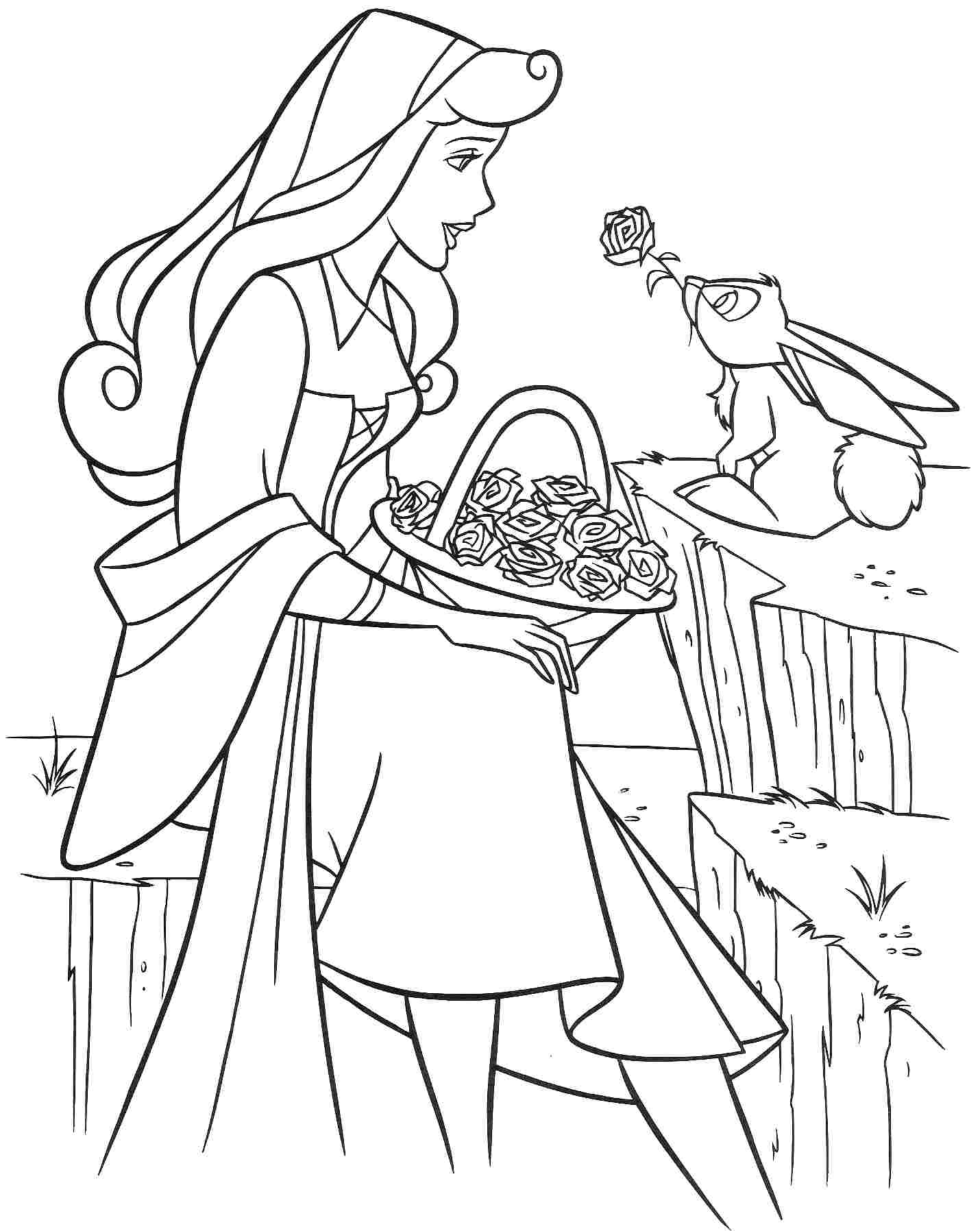 sleeping beauty coloring sleeping beauty coloring pages download and print coloring sleeping beauty