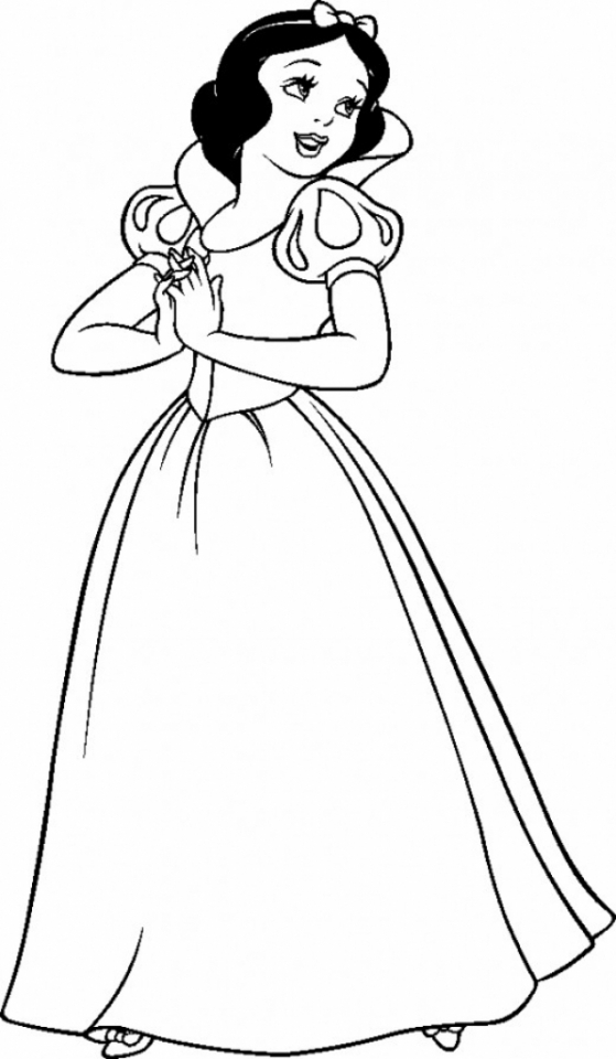 snow white color get this snow white coloring pages free at3bx color snow white