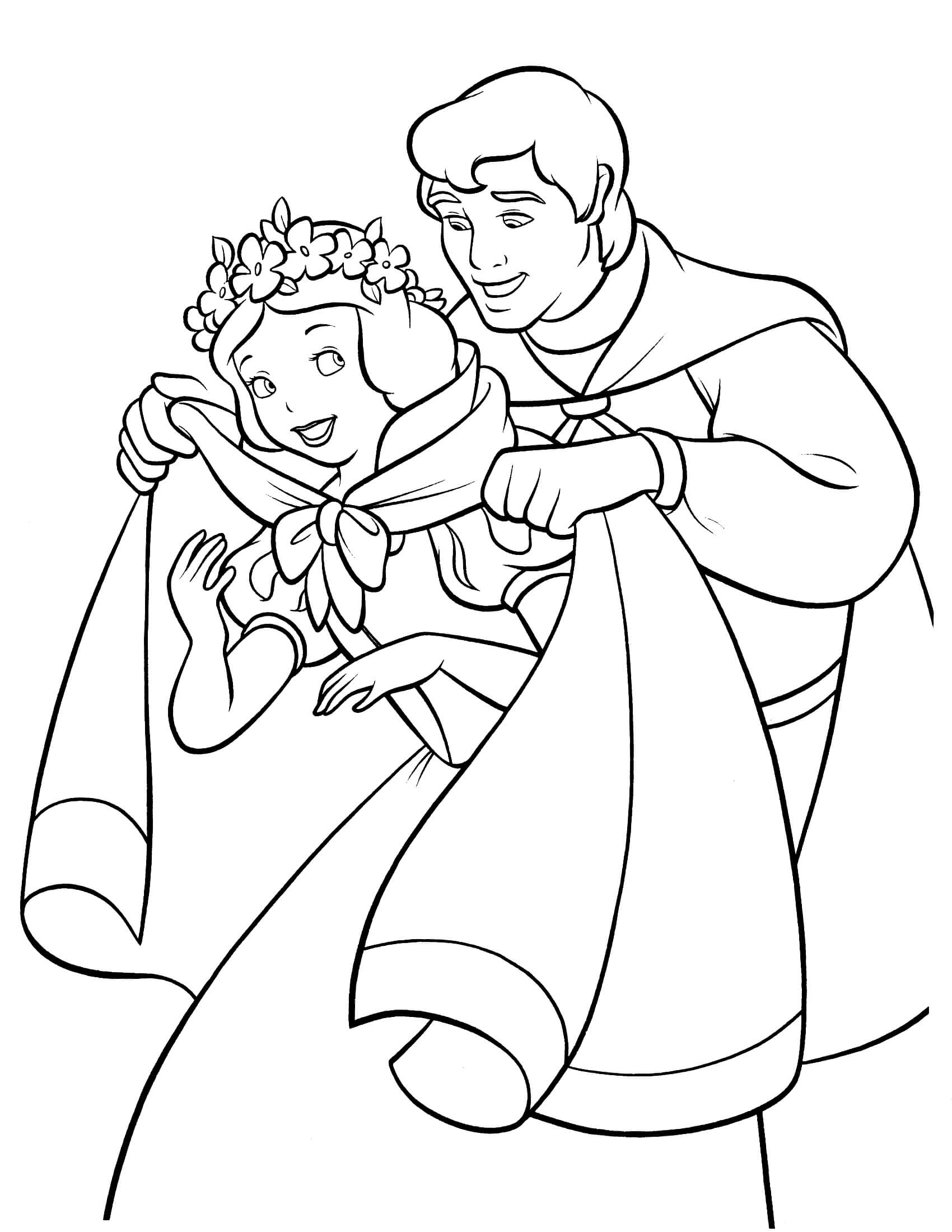 snow white color snow white and the seven dwarfs coloring pages white snow color
