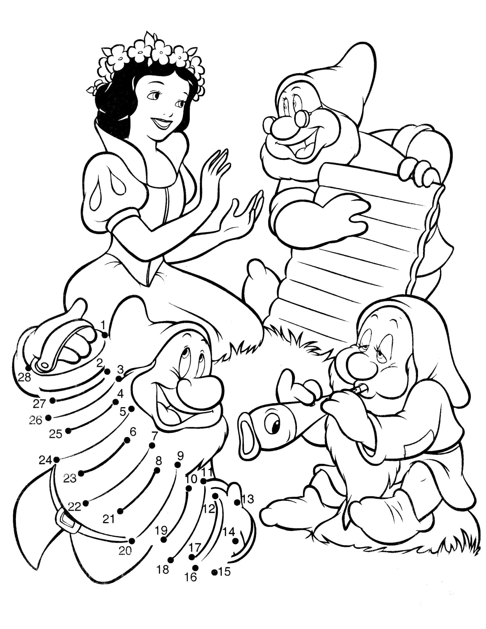 snow white color snow white coloring pages to download and print for free snow white color