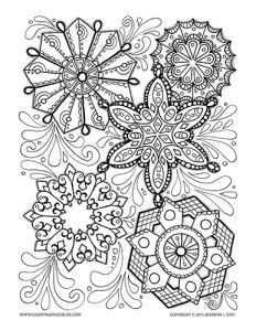 snowflake coloring pages for adults snowflake colouring pages pages snowflake for coloring adults