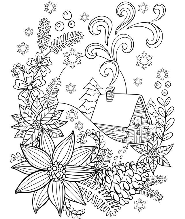 snowflake coloring pages for adults winter coloring pages for adults best coloring pages for adults for pages coloring snowflake