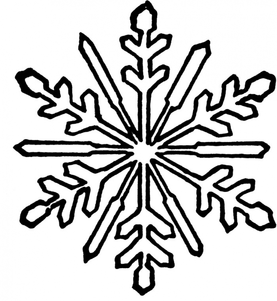 snowflake pictures to color free printable snowflake coloring pages for kids pictures snowflake to color