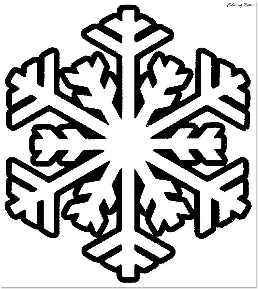 snowflake pictures to color get this snowflake coloring pages for preschoolers 64850 to pictures snowflake color
