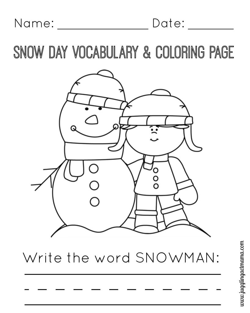 snowy day coloring page elijah coloring pages at getcoloringscom free printable day page snowy coloring