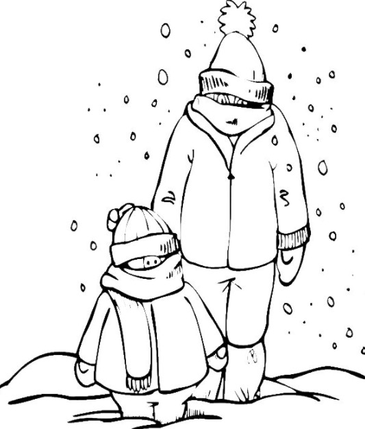 snowy day coloring page snow day coloring page coloring page book for kids day page snowy coloring