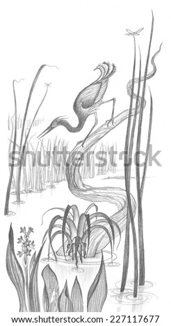 snowy egret drawing egret drawing at getdrawings free download egret snowy drawing