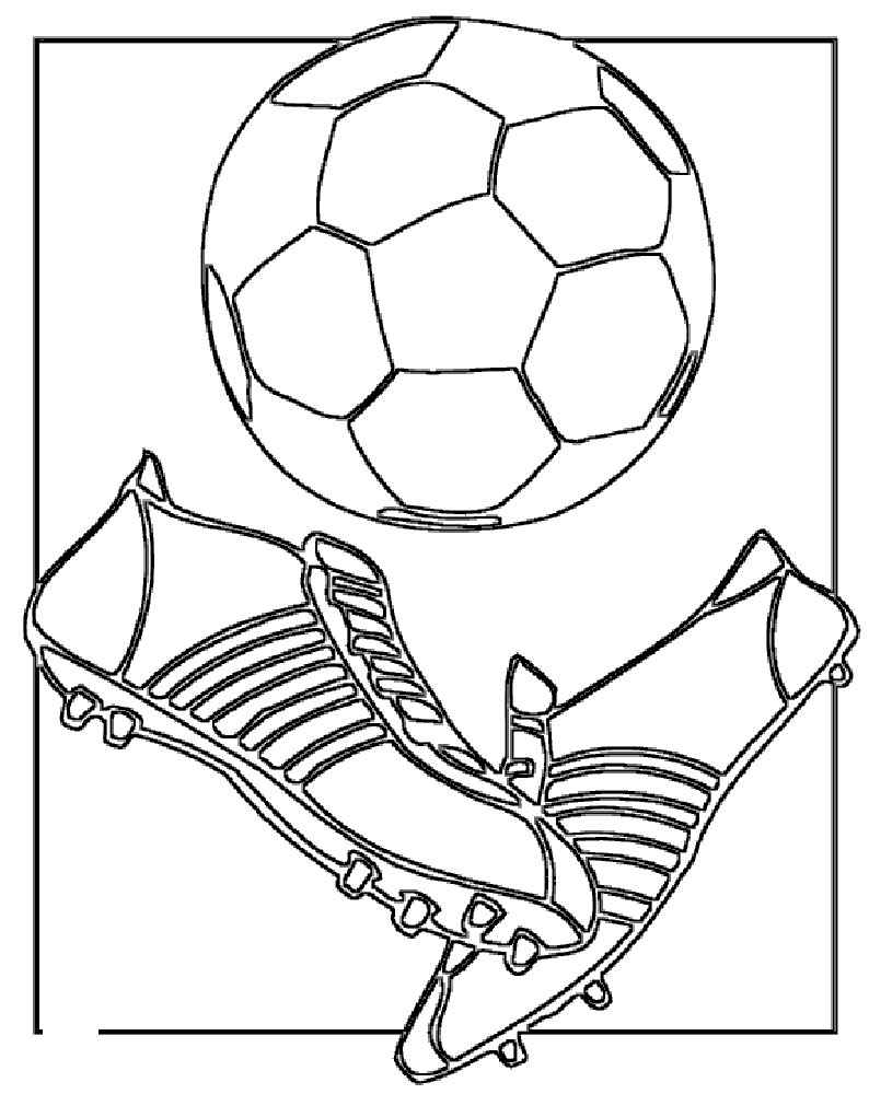 soccer player coloring pages a soccer player dribbling the ball ahead coloring page player coloring soccer pages