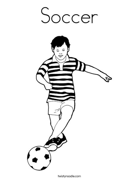 soccer player coloring pages soccer coloring page twisty noodle coloring player soccer pages