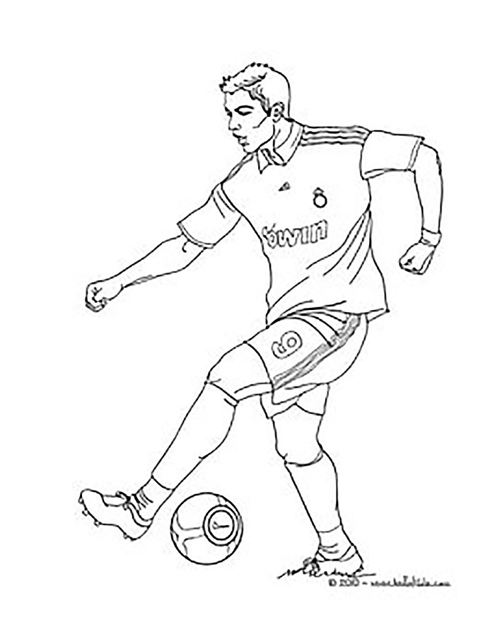 soccer player coloring pages soccer player coloring pages free printable soccer player soccer coloring player pages