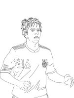 soccer player coloring pages soccer player coloring pages free printable soccer player soccer pages player coloring