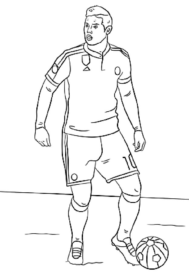 soccer player coloring pages soccer player coloring pages player pages coloring soccer 1 1