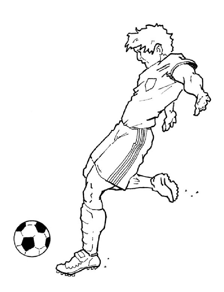 soccer player coloring pages soccer player coloring pages player pages soccer coloring