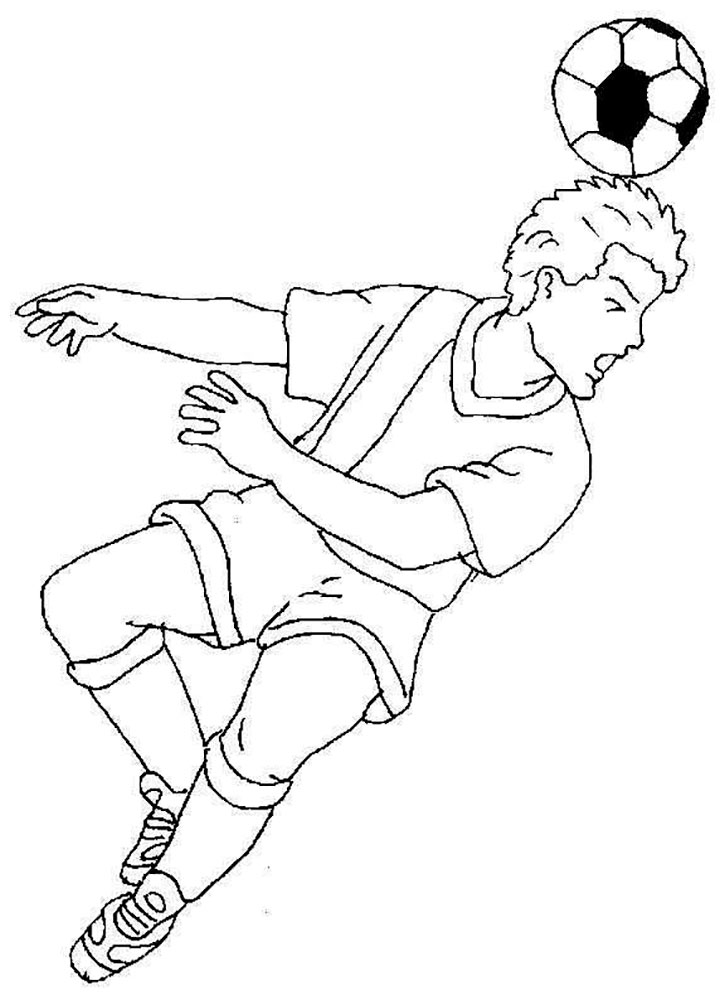 soccer player coloring pages soccer player coloring pages player soccer coloring pages
