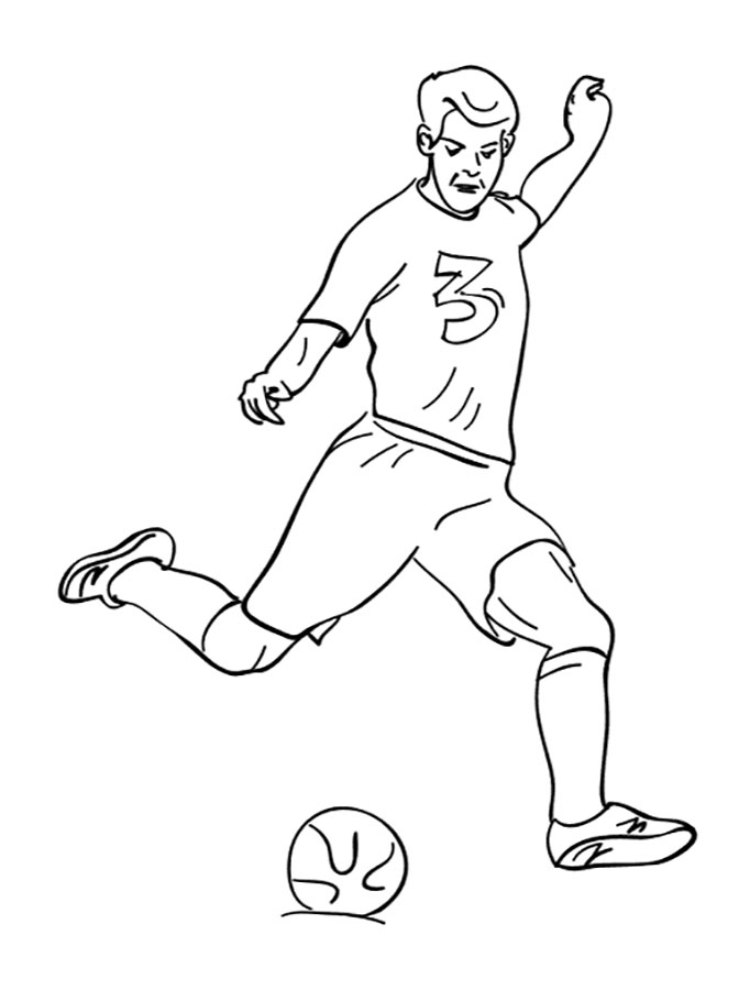 soccer player coloring pages soccer player coloring pages soccer player coloring pages