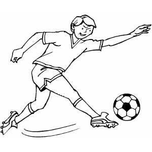 soccer player coloring pages soccer player strike coloring page player soccer coloring pages