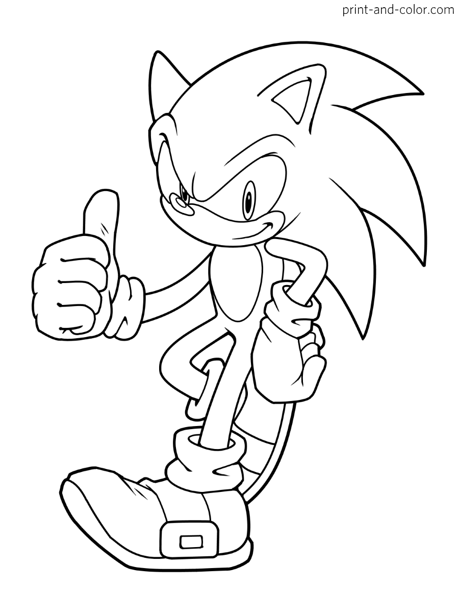 sonic the hedgehog coloring pages sonic the hedgehog coloring pages to download and print coloring the sonic hedgehog pages