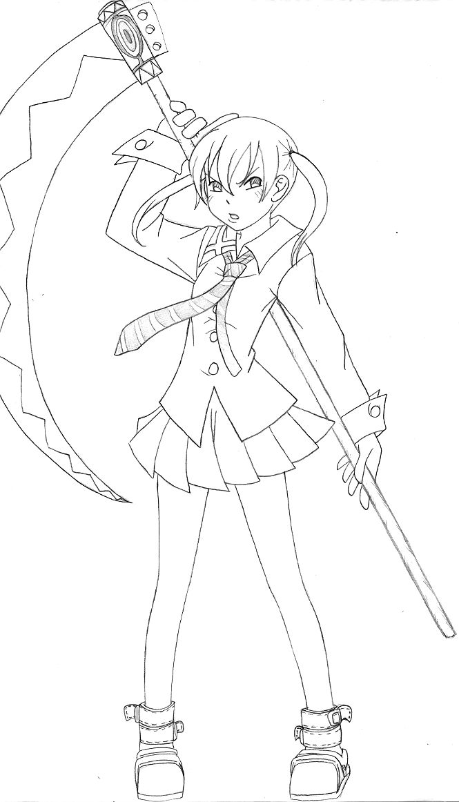 soul eater coloring pages crona and ragnarok soul eater coloring pages coloring pages coloring soul eater pages