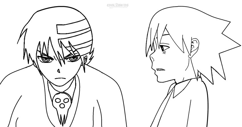 soul eater coloring pages free printable coloring picture of soul eater online copy soul coloring eater pages
