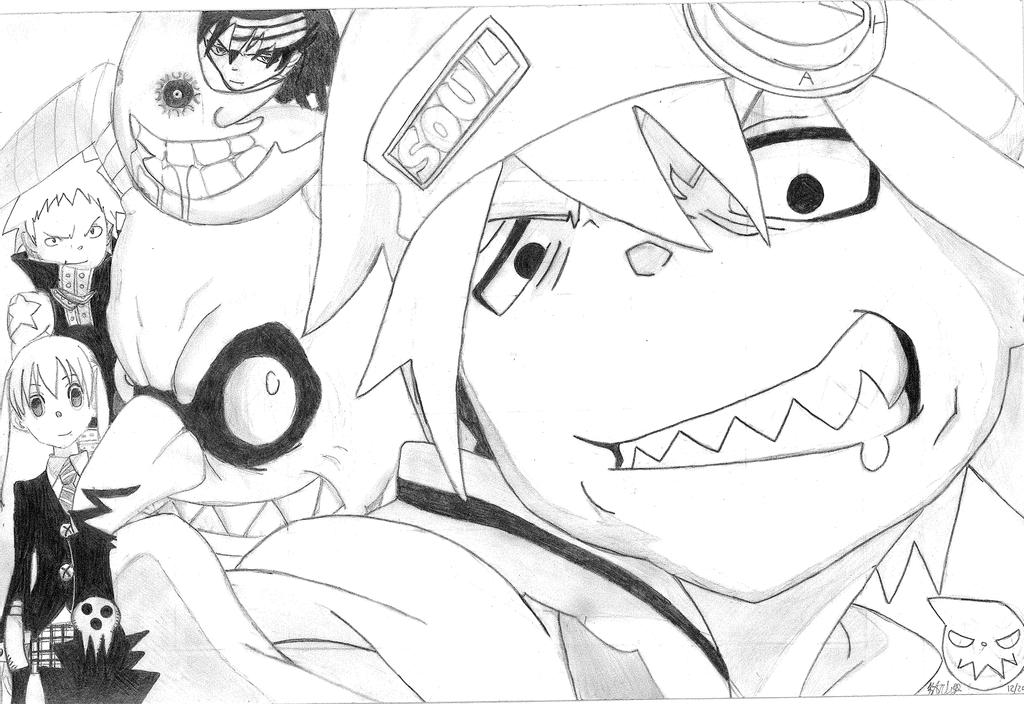 soul eater coloring pages image result for soul eater lineart coloring pages eater soul coloring pages