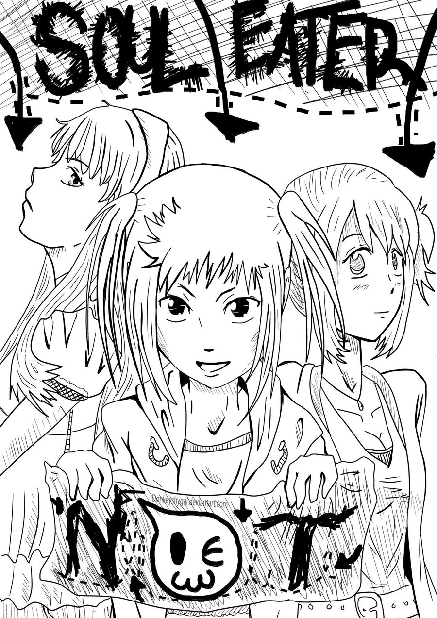 soul eater coloring pages top 10 printable soul eater coloring pages soul coloring eater pages