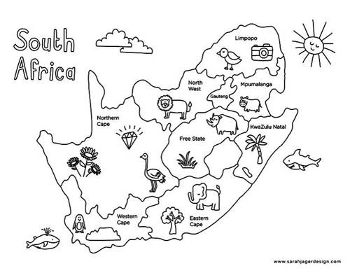 south africa coloring sheet south africa crayolacomau africa sheet coloring south