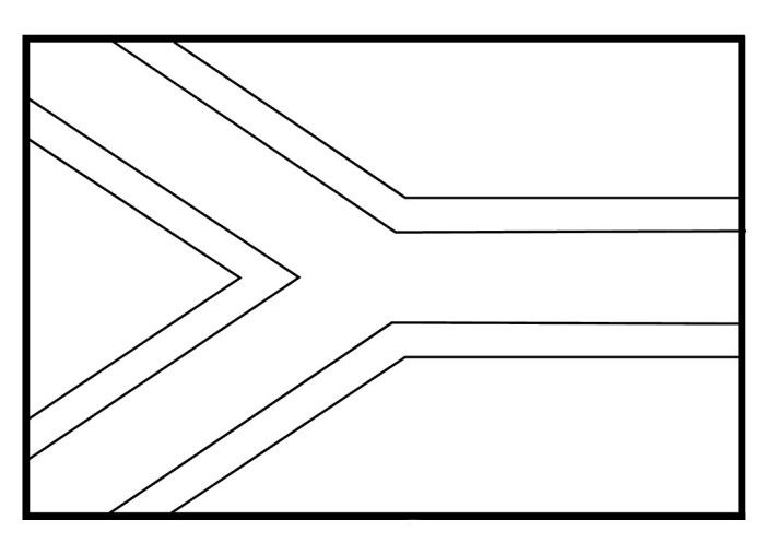 south africa coloring sheet south africa flag coloring page coloring home sheet south africa coloring