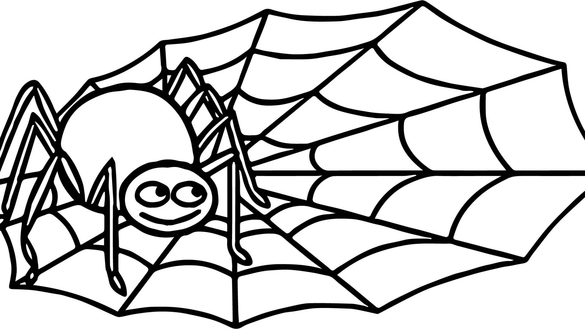 spider coloring page cartoon spider coloring pages at getdrawings free download spider coloring page