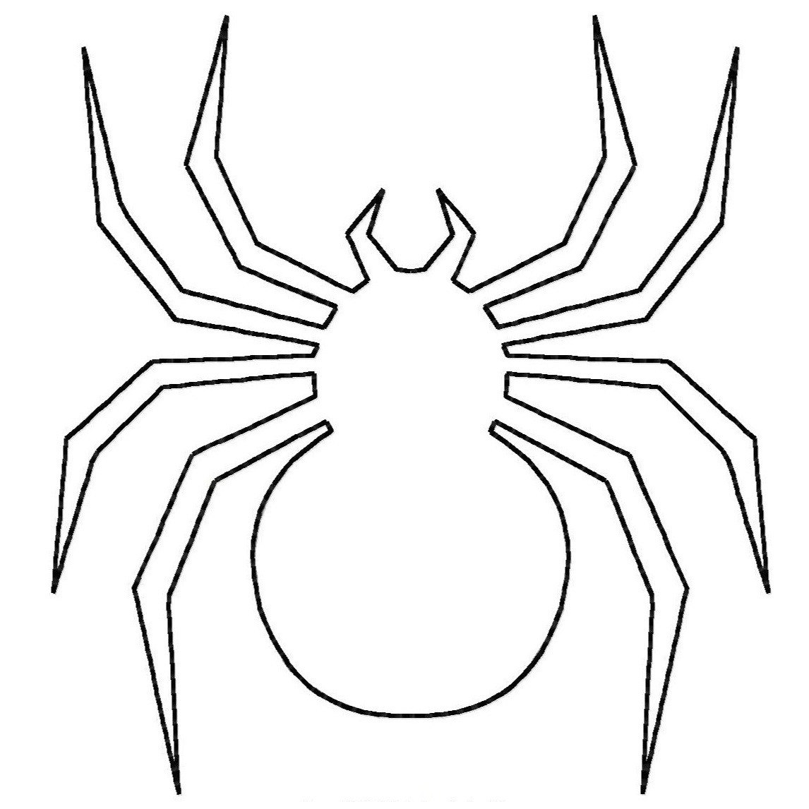 spider coloring page spider coloring pages to download and print for free page spider coloring
