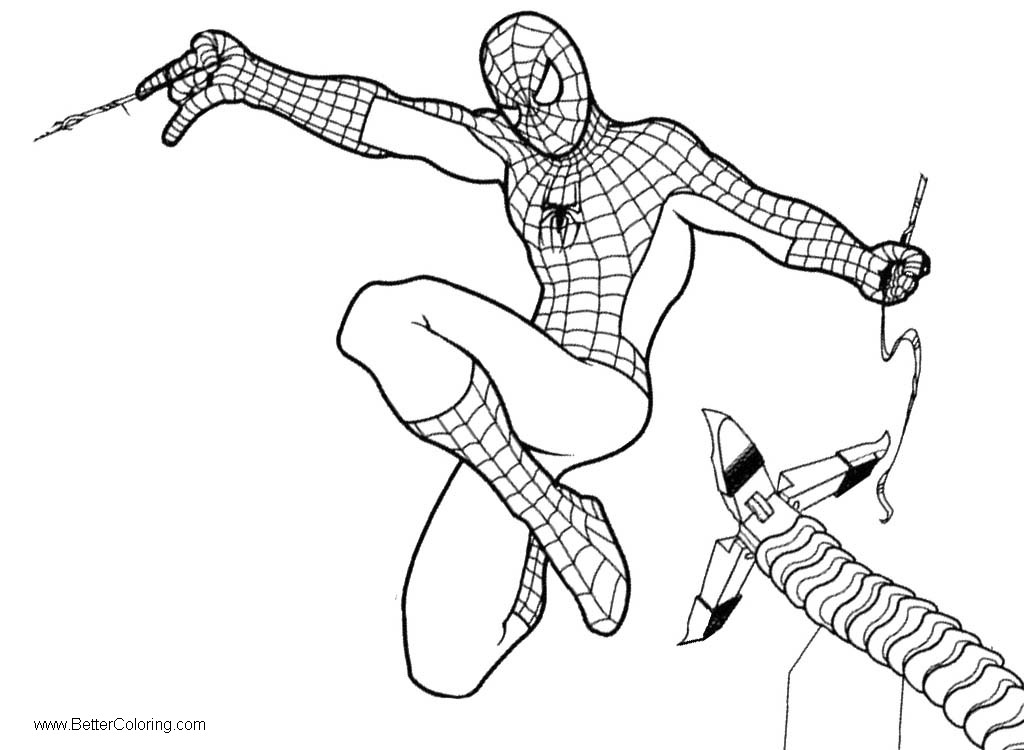 spiderman homecoming coloring spider man homecoming coloring pages homecoming spiderman coloring